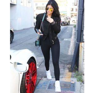 American Apparel Kylie Jenner Black Unitard